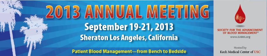 SABM Annual Meeting 2013